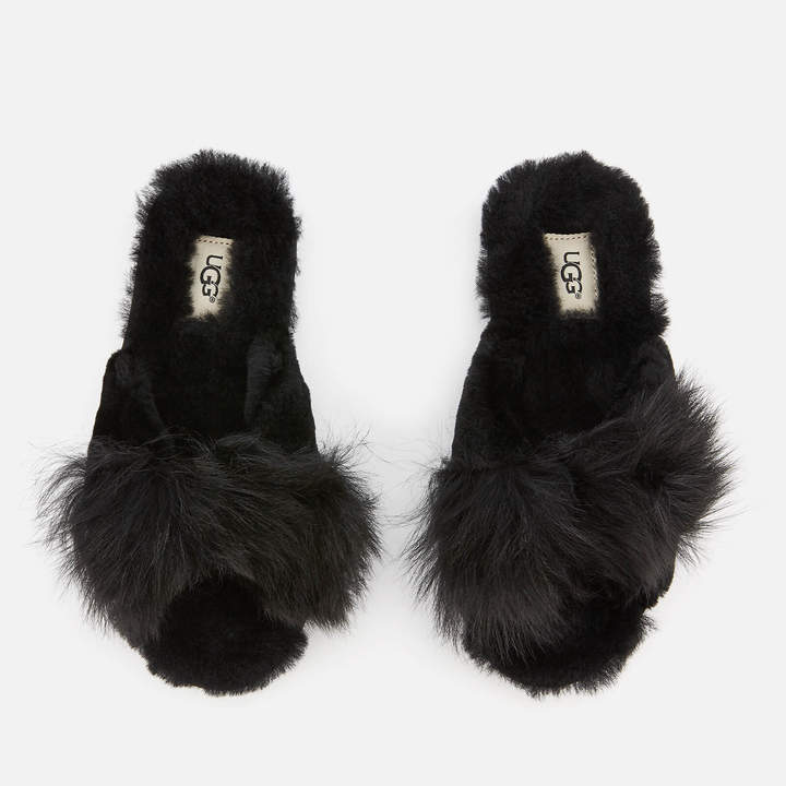 8c72ae6bbaa Women's Mirabelle Sheepskin Slide Slippers - Black