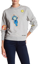 Love Moschino Pattch Applique Sweater