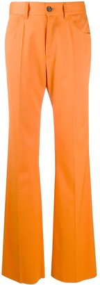 MM6 MAISON MARGIELA High-Waist Straight-Leg Trousers