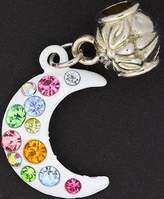 Olympia Multi- Colored Rhinestone Enamel Charm By Charms & Beads