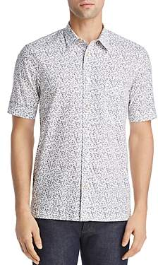 Paul Smith Floral Short-Sleeve Slim Fit Button-Down Shirt