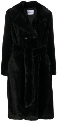 Stand Studio Faustine belted coat