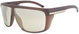 Dark Chocolate & Gray Rectangular Sunglasses