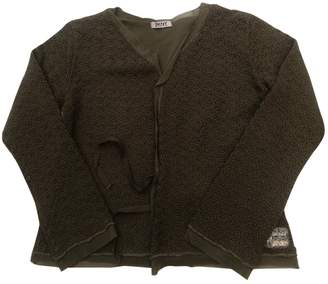 DKNY Green Wool Knitwear