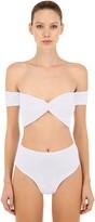Hunza G Brigette Seersucker Bikini Set