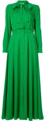 LAYEUR long-sleeve maxi dress