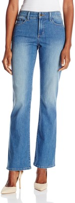 Yummie by Heather Thomson Women's Modern Mid Rise Slimming Baby Bell Denim Jeans