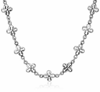 Alex and Ani Mini Floral Chain 18 in. Magnetic Necklace RS