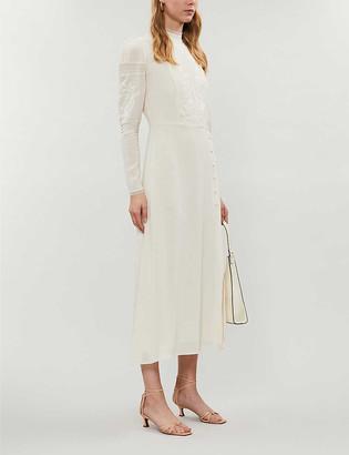 Reformation Adelia crepe maxi dress