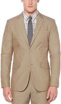 Perry Ellis Very Slim Solid Tan Suit Jacket