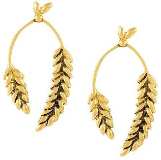 Aurelie Bidermann 'Wheat' earrings