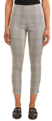 Time and Tru Women's Millennium Side-Zip Pant
