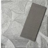 Sameera Silver Placemat/Lustre Silver Napkin