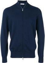 Brunello Cucinelli zip-up long sleeve sweatshirt - men - Cotton - 48