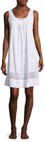 Midnight by Carole Hochman Cotton Lace Chemise