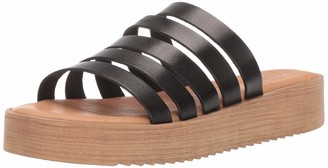 Musse & Cloud Women's KASY Slide Sandal Nubuck 40 Medium EU (9-9.5 US)