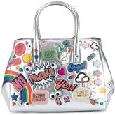 Anya Hindmarch All Over Wink Stickers Leather Small Handbag