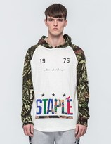 Staple Forest Camo Hooded T-Shirt
