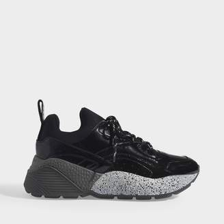 Stella McCartney Eclypse Sneakers Laces In Black Eco-Leather