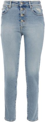 IRO High-rise Slim-leg Jeans