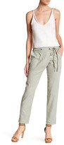 Jessica Simpson Avenia Relaxed Tapered Linen Blend Pant