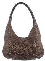 Devi Kroell Pebbled Leather Hobo