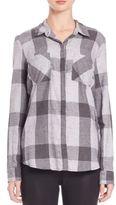 Splendid Willwood Plaid Cotton Shirt
