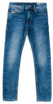 Diesel Boy's Lightweight Faded Denim