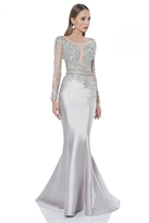 Terani Evening - Sultry Illusion Mermaid Gown 1613E0356