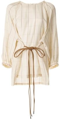 Muller of Yoshio Kubo Lin check-print blouse