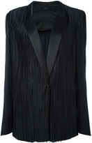 Haider Ackermann classic pleated blazer - women - Silk/Cotton/Polyester - 36