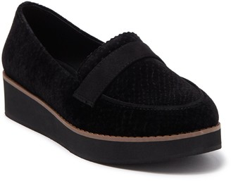 Call it SPRING Ackerly Velvet Platform Loafer