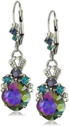 "Sorrelli Emerald City"" Royalty Drop Earrings"