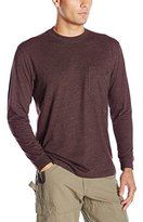 Wolverine Men's Long Sleeve Knox Wicking Pencil Pocketed T-Shirt