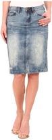 Blank NYC Denim Pencil Skirt in Mondaze
