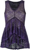 Cecilia Prado knit blouse - women - Acrylic/Viscose - PP