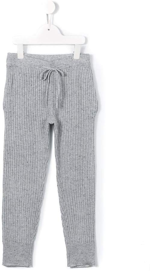 Morley casual speckled trousers