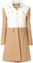 MM6 MAISON MARGIELA colour block coat