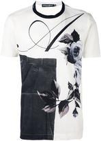 Dolce & Gabbana multi print T-shirt