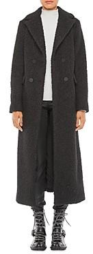 Giorgio Armani Emporio Double Breasted Boucle Coat