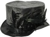 Möve Feather Woven Straw Top Hat