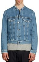 Acne Studios Denim Frayed Jacket
