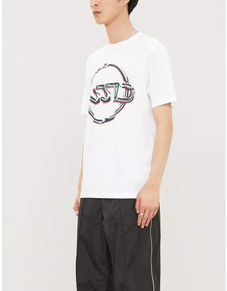 ASSID Chrome graphic-print cotton-jersey T-shirt