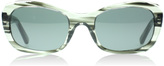 DKNY DY4118 Sunglasses Striped Grey 364987 51mm