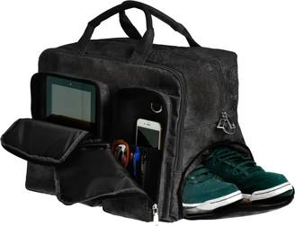 Earth Braga Travel Bag - Black