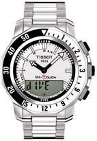 Tissot Men's Seatouch Stainless Steel Bracelet Watch, 47mm