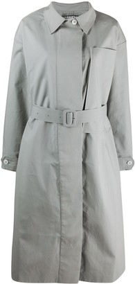 Jacquemus Oversized Chest Pocket Trench Coat
