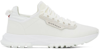 Givenchy White Spectre Runner Sneakers