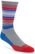 Stance Men's Fusion Athletic - Lundy Stripe Crew Socks