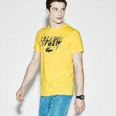 Lacoste Men's Sport Technical Jersey Tennis Splash T-Shirt